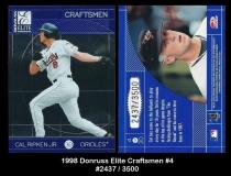 1998 Donruss Elite Craftsmen #4
