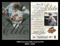 1998 Donruss Elite Inserts #16