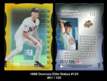 1998 Donruss Elite Status #123