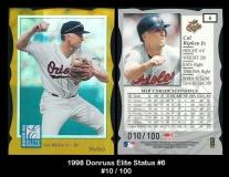 1998 Donruss Elite Status #6