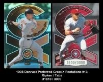 1998 Donruss Preferred Great X-Pectations #13