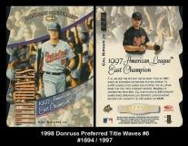 1998 Donruss Preferred Title Waves #6