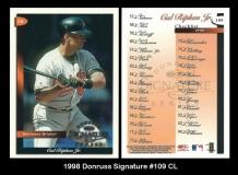 1998 Donruss Signature #109 CL
