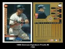 1998 Donruss Signature Proofs #9