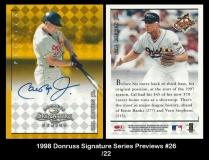 1998 Donruss Signature Series Previews #26