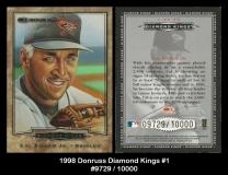 1998 Donruss Diamond Kings #1