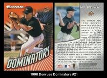 1998 Donruss Dominators #21