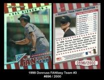 1998 Donruss FANtasy Team #3