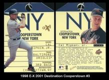 1998 E-X 2001 Destination Cooperstown #3