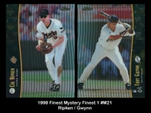 1998 FInest Mystery FInest 1 #M21