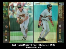 1998 Finest Mystery Finest 1 Refractors #M22