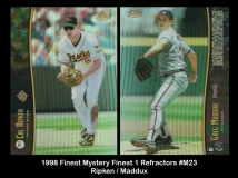 1998 Finest Mystery Finest 1 Refractors #M23