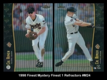 1998 Finest Mystery Finest 1 Refractors #M24
