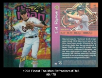 1998 FInest The Man Refractors #TM5