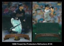 1998 Finest No-Protectors Refractors #135