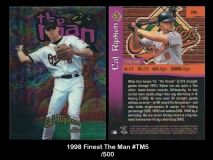 1998 Finest The Man #TM5