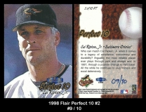 1998 Flair Perfect 10 #2
