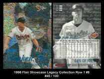 1998 Flair Showcase Legacy Collection Row 1 #8