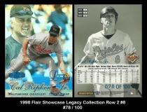 1998 Flair Showcase Legacy Collection Row 2 #8