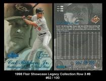 1998 Flair Showcase Legacy Collection Row 3 #8