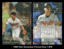 1998 Flair Showcase Promos Row 1 #8P