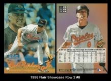1998 Flair Showcase Row 2 #8