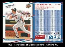 1998 Fleer Decade of Excellence Rare Traditions #12