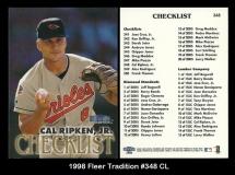 1998 Fleer Tradition #348 CL