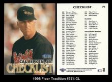 1998 Fleer Tradition #574 CL