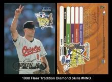 1998 Fleer Tradition Diamond Skills #NNO