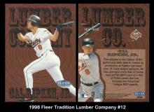 1998 Fleer Tradition Lumber Company #12