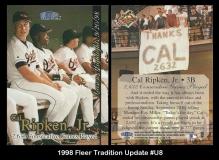 1998 Fleer Tradition Update #U8