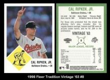1998 Fleer Tradition Vintage '63 #8