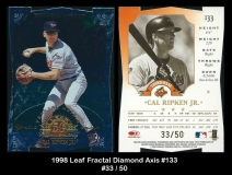 1998 Leaf Fractal Diamond Axis #133