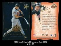 1998 Leaf Fractal Diamond Axis #177