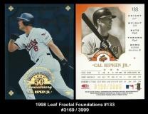 1998 Leaf Fractal Foundations #133