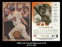 1998 Leaf Fractal Materials #133