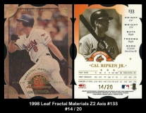 1998 Leaf Fractal Materials Z2 Axis #133