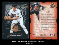 1998 Leaf Fractal Materials Z2 Axis #177