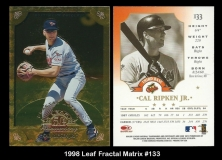 1998 Leaf Fractal Matrix #133