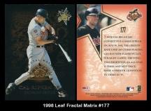 1998 Leaf Fractal Matrix #177