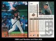 1998 Leaf Rookies and Stars #28