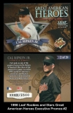 1998 Leaf Rookies and Stars Great American Heroes Executive Promos #2