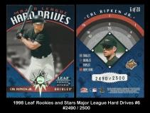 1998 Leaf Rookies and Stars Major League Hard Drives #6