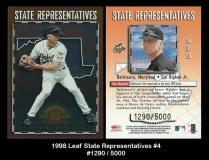 1998 Leaf State Respresentatives #4