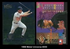 1998 Metal Universe #200