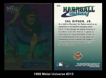 1998 Metal Universe #213