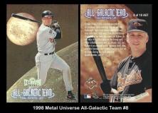 1998 Metal Universe All-Galactic Team #8