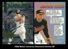 1998 Metal Universe Diamond Heroes #6