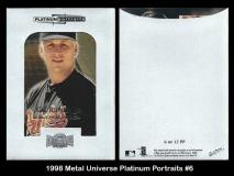 1998 Metal Universe Platinum Portraits #6